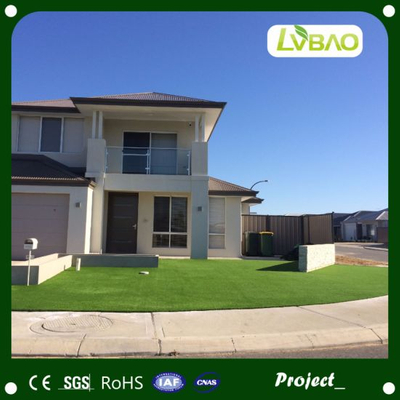 Green UV-Resistance Waterproof Anti-Fire Fake Durable Fire Classification E Grade Yard Artificial Turf