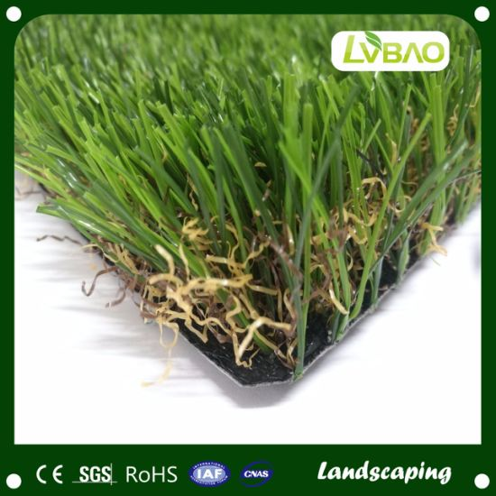 Synthetic Turf Natural-Looking Yard Fake Pet Fire Classification E Grade Grass Artificial Turf