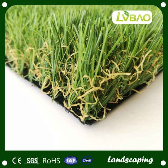 Garden Grass Landscape Multipurpose Natural-Looking Lawn Durable UV-Resistance Commercial Artificial Turf