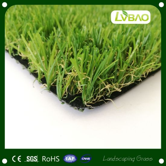 Green Natural-Looking Lawn Durable UV-Resistance Commercial Monofilament Artificial Turf