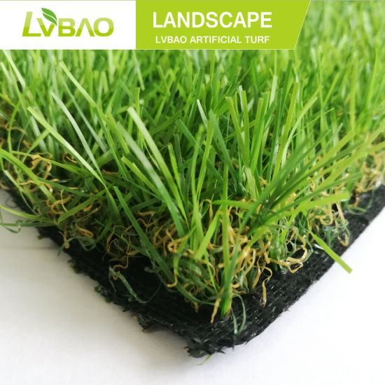 Commercial Home & Garden Lawn Customization Waterproof Fake Yarn Natural-Looking Fire Classification E Grade Artificial Turf/Grass