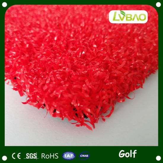 15mm Height 75600 Density Badminton Court Artificial Grass Synthetic Lawn Turf