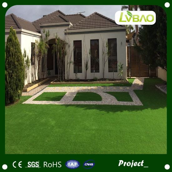Lawn Multipurpose Natural-Looking Anti-Fire Fake Fire Classification E Grade Waterproof Artificial Turf