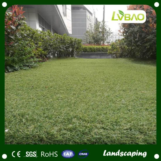 Outdoor Garden Anti-Fire Small Mat Landscaping Yard Grass Monofilament Synthetic Artificial Turf